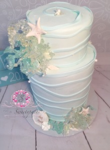 cakes by sweetypants, poured sugar coral